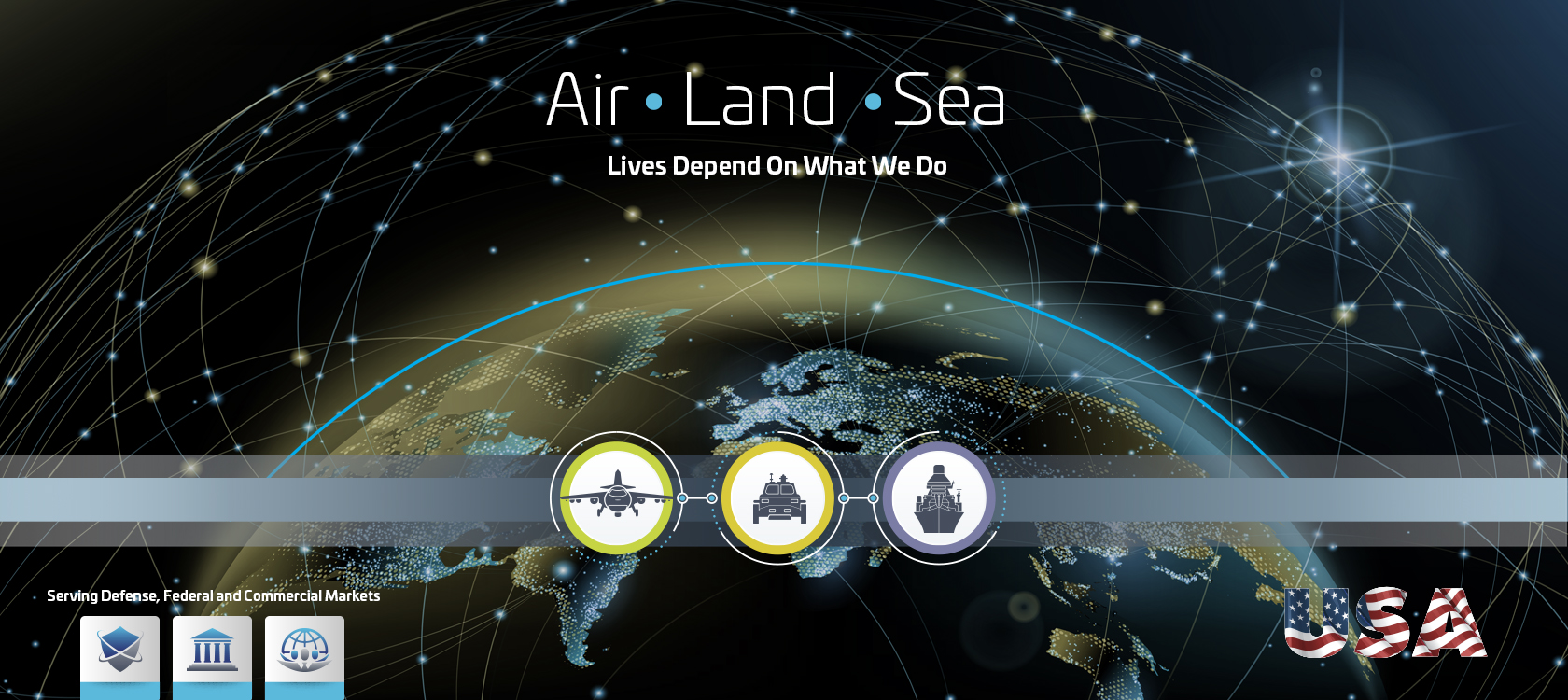 Thales: Air - Land - Sea, Lives Depend On What We Do
